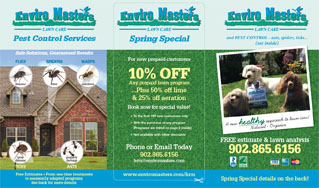 Enviromasters Lawn Care - Proudly Serving HRM (greater metro area) & East Hants